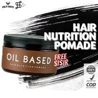 TERLARIS Hair Nutrition Pomade Oil Based by Folti Baffi 2,8 oz