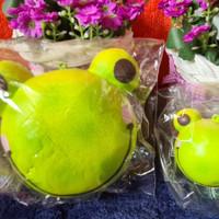 Punimaru Animal Head Bun ( Froggy ) Jumbo and Mini 1 set