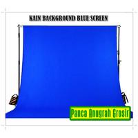Kain Background Chroma Key / Blue Screen Backdrop / Spunbond 75gr