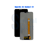 Lcd Touchscreen Oppo A3s - A5 - Realme 2 - C1 Oem Contras Main Grade A