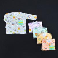 HAYAYO 1 Pcs Baju Lengan Panjang Bayi/Baby Motif Pastel (0-6M)