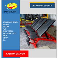 Adjustable bench bangku sit up fitness bench Flat incline decline