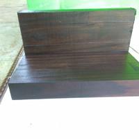 Balok kayu sonokeling 22x10x3 cm