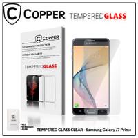 Samsung J7 Prime - COPPER TEMPERED GLASS FULL CLEAR