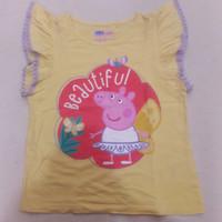 Kaos/ Baju Anak Perempuan Branded Baleno Preloved/ Bekas -Peppa Pig