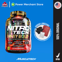 Muscletech Nitrotech Whey Gold 5.5lb Strawberry