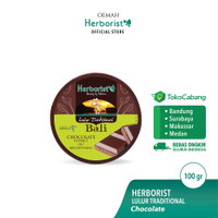 Herborist Lulur Tradisional Bali Chocolate - 100gr