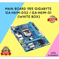 H61M   MAIN BOARD 1155 GIGABYTE GA-H61M-DS2 / GA-H61M-S1 (WHITE BOX)