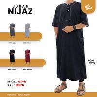 Baju Jubah Muslim Pria Laki Laki Saudi Dewasa Koko Gamis Pria Nijaz
