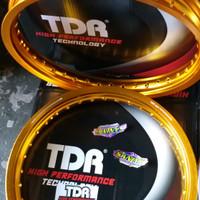 Velg TDR W Shape Set 160/185 Ring 17 Gold