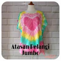 Baju Bali / Baju Pelangi Jumbo / Atasan Pelangi Jumbo / Blouse Bali