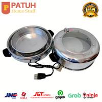 Oven listrik bulat / backing pan listrik merk butterfly 800 watt