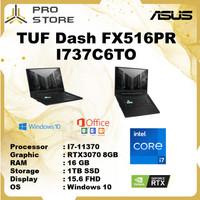 Asus TUF Dash FX516PR I737C6TO F15 i7 11370 16GB 1TBssd RTX3070 8GB W1