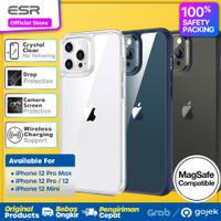 ESR Mimic Ice Shield Clear Case iPhone 12 Pro Max Mini Soft Casing