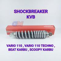 Shockbreaker Belakang Vario 110 karbu TECHNO KVB ORIGINAL ASLI AHM ORI
