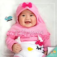 baju jumper bayi hijab hello kitty
