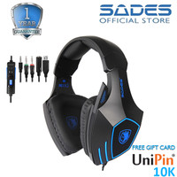Headset Gaming Multiplatform Sades SA-819GT