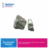 Batu Aquascape Bali Green Per 100 Gram