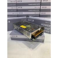(garansi 1 tahun) SPC Adaptor jaring 12v 10A/ power supply cctv 12v10A