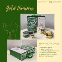 Hampers Lebaran Kolaborasi J&C Cookies x Addictea - Gold