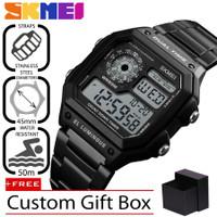 SKMEI Original 1335 Jam Tangan Pria Premium Business Digital LED