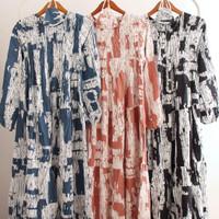 Gamis Wanita Gamis Jumbo Dress Muslim Baju Muslim Wanita Abaya - Navy