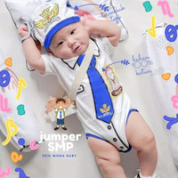 Baju Jumper bayi smp jumpsuit baby one piece romper