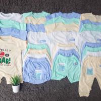 Paket Perlengkapan baju bayi newborn dan jumbo SNI 22pcs