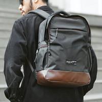HARU BLACK |ManNeedMe x ARCIO| Tas Ransel Backpack Pria WATERPROOF ORI
