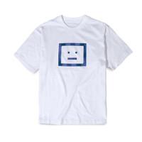 ASD Erian Check Face T-Shirt White