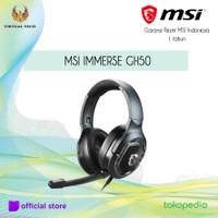 MSI IMMERSE GH50 GAMING Headset Garansi Resmi MSI Indonesia 1 thn