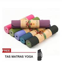 Matras Yoga, Alas Olahraga Anti Licin, Bagus dan Murah