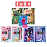 Toyu Set Bundling Stationery Alat Tulis Anak Lengkap Sekolah