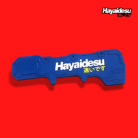 Hayaidesu Mud Flap Penahan Lumpur PCX 160 - Biru
