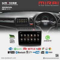 Headunit Android 10 inch Honda HRV 2015 Mirai 1032