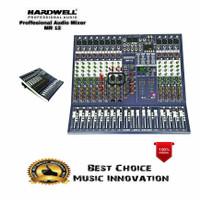 Audio Mixer Hardwell MR 12 / MR12 Bluetooth Soundcard Mp3