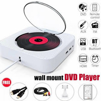 wall mount dvd player mountain standing cd disc HDMI timer gantung USB
