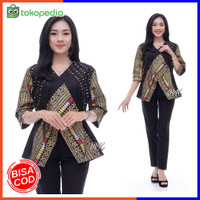 Blouse Batik Wanita | Atasan Batik wanita | Motif Songket