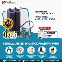 Fast Print Ciss Infus Modif Printer Epson K100 K200 K300 Plus Tinta