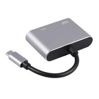 Adapter USB C to VGA and HDMI Capdase KONVERTER NEW MACBOOK PRO LENOVO