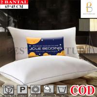 Best Bantal Silicon Bantal Hotel Super Lembut Anti Alergi isi 2Pcs