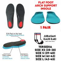 Orthopedic Flat Foot Insole Arch Correction Support Tapak Kaki Rata
