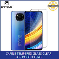 Cafele Xiaomi Poco X3 PRO Tempered Glass Clear Anti Gores Layar
