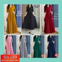 Baju Atasan Wanita / rania Dress Gamis Balotelly Muslim Fashion Wanita