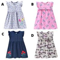 Baju Dress Terusan Bayi Balita Katun Import Carters Murah Lucu BG2105