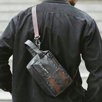 YUTA BLACK  MNM x ARCIO  Tas Selempang Pria Sling Bag Pouch ORIGINAL