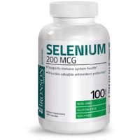 Bronson Selenium 200 mcg Immune System Thyroid Prostate 100 Capsules