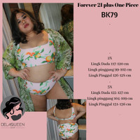 FOREVER 21 PLUS. Baju renang big size. BK79