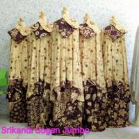 mukena bali/ mukena katun rayon motif batik jumbo