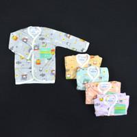 HAYAYO 1 Pcs Baju Lengan Panjang Bayi/Baby Motif Pastel S,M,L